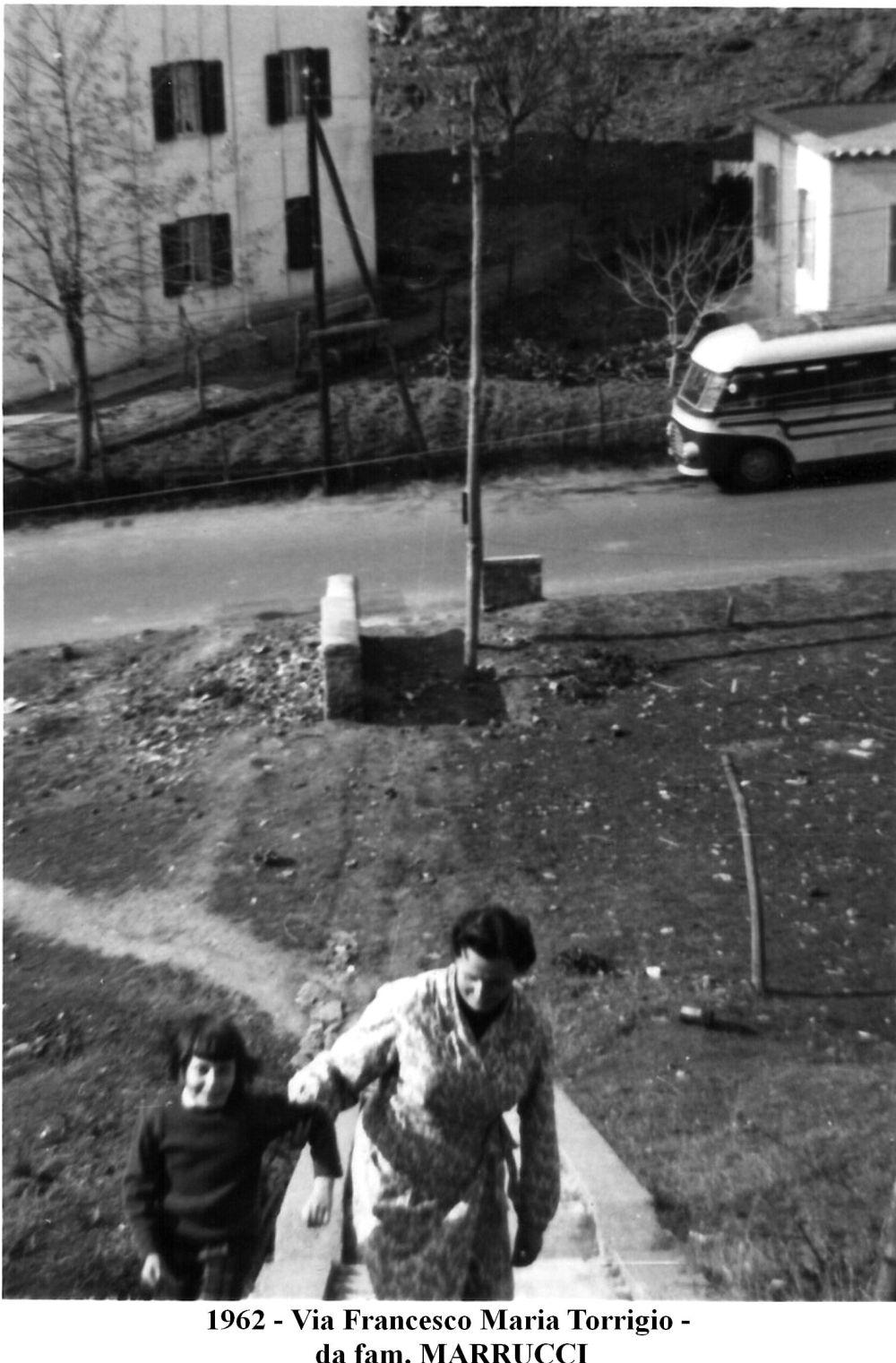 1962 - Via Torrigio - fam. Marrucci