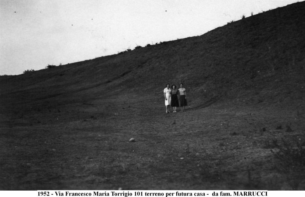 anno 1952 - Via F M Torrigio terreno per casa2 - fam Marrucci