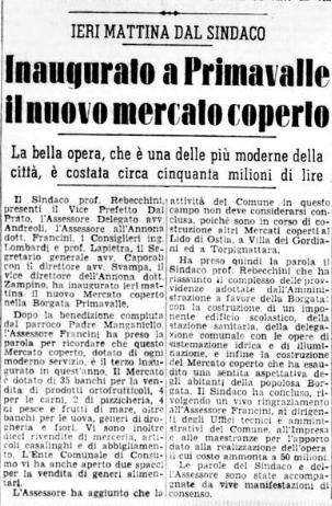 Il Messaggero, 26 luglio 1955